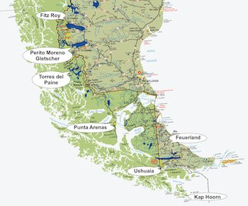Höhepunkte Patagoniens - Patagonien Reisen
