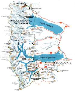 Nationalpark Los Glaciares - Patagonien Reisen - Höhepunkte Patagoniens