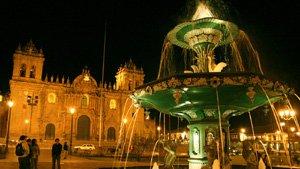 Peru Reisen - Cusco bei Nacht