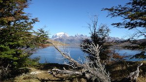 Nationalpark Torres del Paine in Chile. Patagonien Reisen