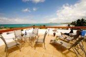 Hotel Albemarle, Insel Isabela - Terasse
