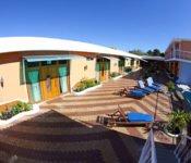 Hotel Blue Marlin, San Cristobal - Sonnenterasse