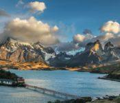 Hosteria Pehoe, Torres del Paine - Aussicht
