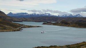 Bootstour Lago Pehoe - Torres del Paine, Patagonien