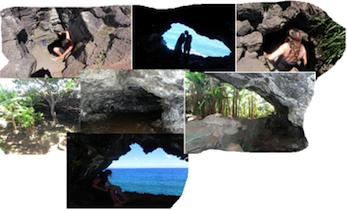 Höhlenwanderung Osterinsel