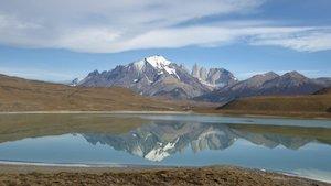 Laguna Amarga - Mietwagenreise Patagonien