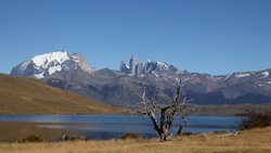 Laguna Azul, Torres del Paine - Patagonien Rundreisen