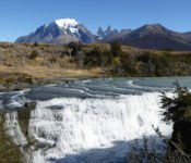 Torres del Paine - Wasserfall Rio Paine
