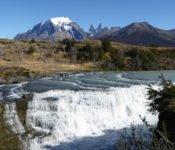 Torres del Paine - Wasserfall Rio Paine
