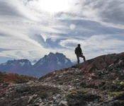 Torres del Paine - Ferrier Aussichtspunkt