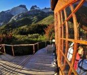 Refugio Los Cuernos, Torres del Paine - W-Trek - Terasse