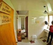 Refugio Torre Central, W-Trek Torres del Paine - Gemeinschaftsbad