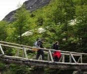 Brücke zum Refugio Chileno, W-Trek - Torres del Paine
