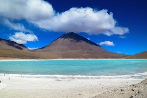 Atacama - Salzsee Lagune
