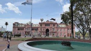 Buenos Aires Regierungspalast