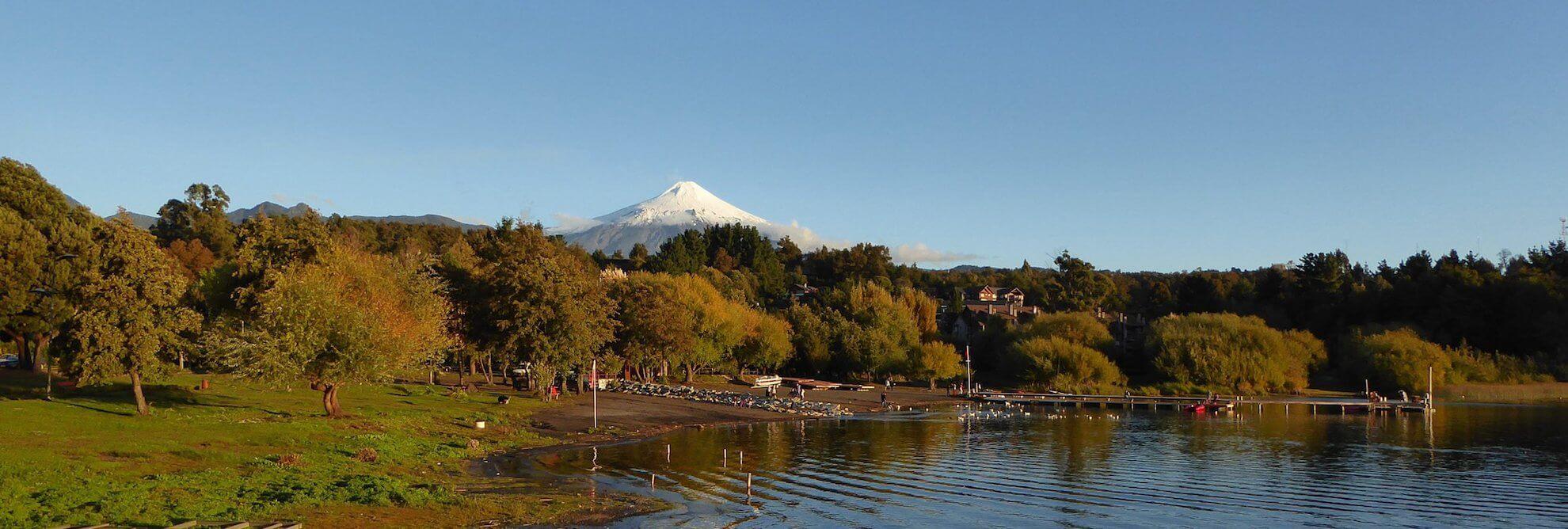 Chilenische Schweiz - Villarrica Vulkan, Pucon