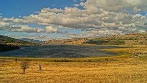 Coyhaique - Steppenlandschaft Patagonien