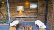 Innenhof Hotel Patagonia Pucon