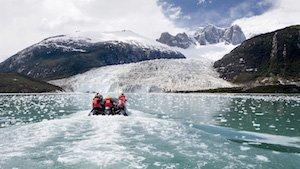 Pia Gletscher - Australis Kreuzfahrt