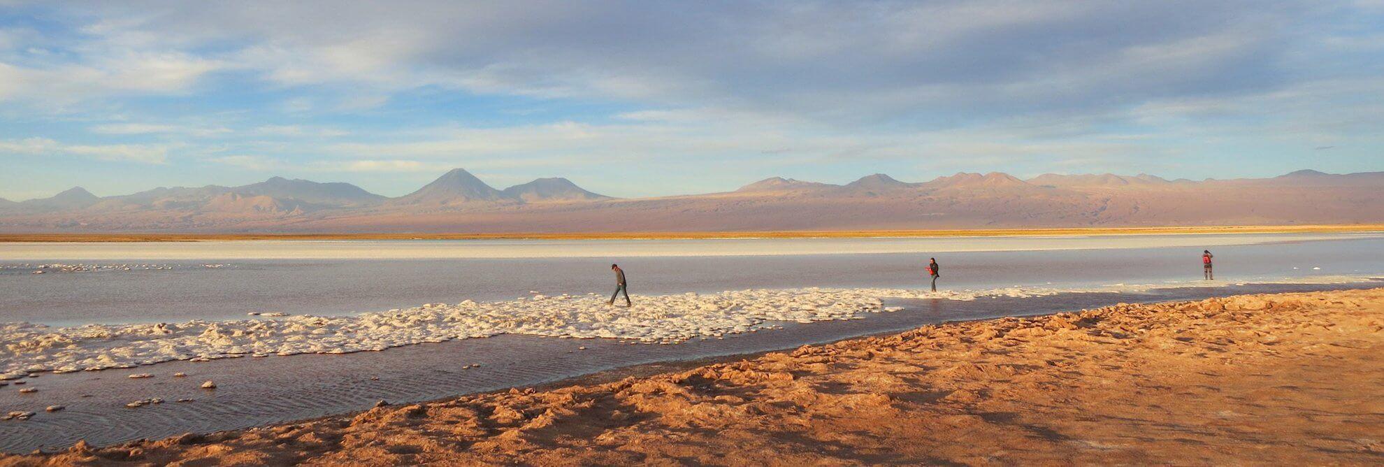 Rundreisen Chile - Salzsee in der Atacama Wüste