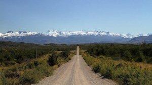 Strasse Patagonien Chile