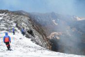 Villarrica Besteigung - am Krater