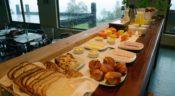 CasaEstablo, Pucon - Frühstücksbuffet