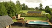 CasaEstablo, Pucon - Pool mit Garten