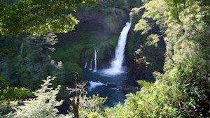 Huilo-Huilo Wasserfall