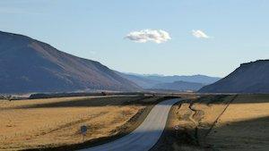 Patagonische Steppe