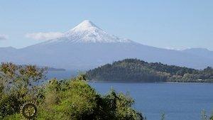 Llanquihue See Chile mit Osorno