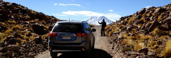 per Mietwagen durch Chile