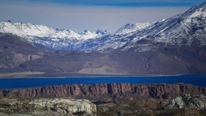 Lago Posadas Argentinien