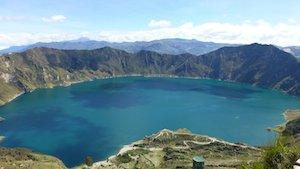 Kraterlagune Quilotoa