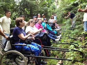 Outdoor Rollstuhl Amazonas