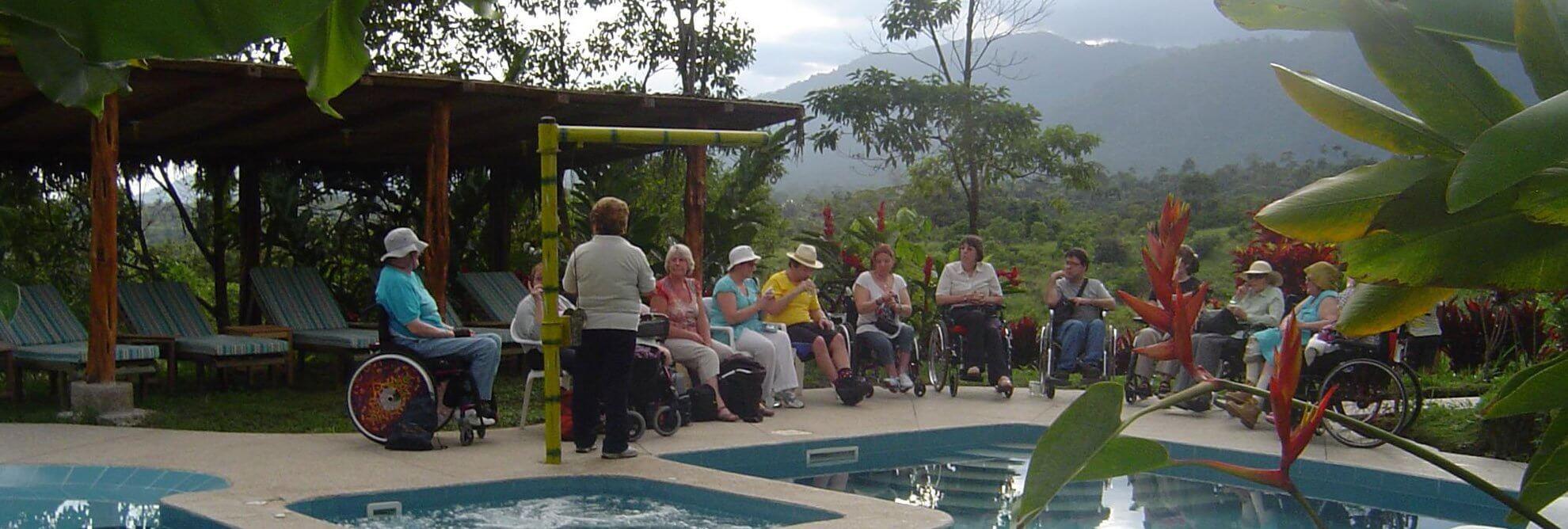Rollstuhl Urlaub Ecuador