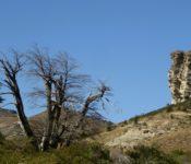 Felsformationen bei Cordoba Pass