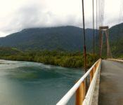 Hängebrücke Lago Yelcho
