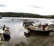 Fischerboote Dalcahue
