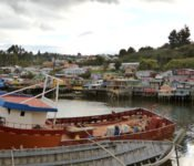 Palafitos in Castro, Chiloe