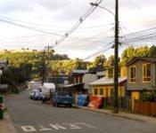 Holzhäuser in Castro