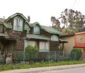 Holzhäuser in Castro, Chiloe