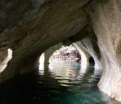 Marmorhöhlen General Carrera See