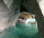 Marmortunnel General Carrera See