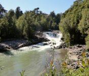 kleiner Wasserfall in Chile