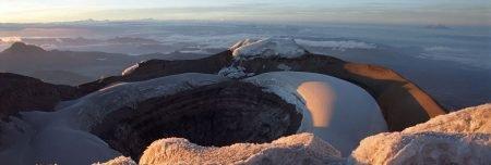 Cotopaxi Besteigung - Krater Cotopaxi