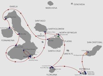 Route B Galapagos Natural Paradise