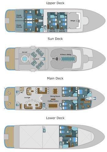 Deckplan Natural Paradise