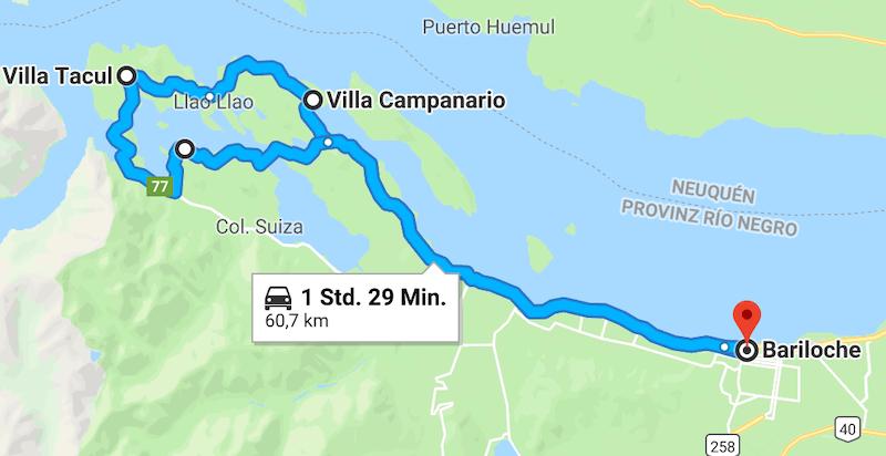 Circuito Chico Bariloche